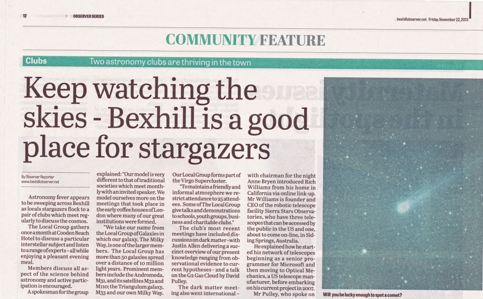 20131122 Bexhill Observer 1lr